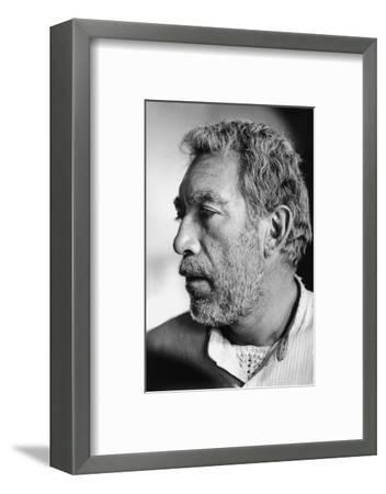 """"""" Zorbas the Greek"""", 1964.-Erich Lessing-Framed Photographic Print"""