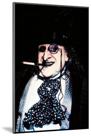 "DANNY DEVITO. ""BATMAN RETURNS"" [1992], directed by TIM BURTON.--Mounted Photographic Print"