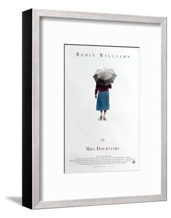 Mrs. Doubtfire [1993], directed by CHRIS COLUMBUS.--Framed Photographic Print