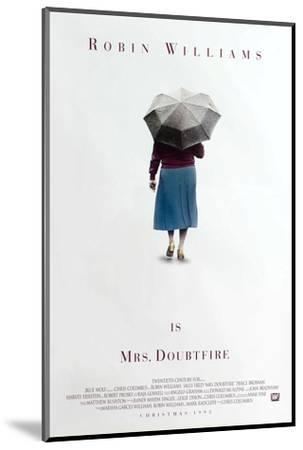 Mrs. Doubtfire [1993], directed by CHRIS COLUMBUS.--Mounted Photographic Print