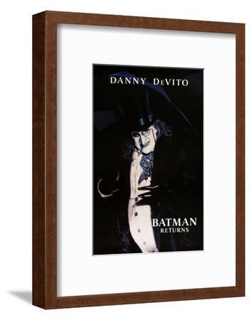 "DANNY DEVITO. ""BATMAN RETURNS"" [1992], directed by TIM BURTON.--Framed Photographic Print"