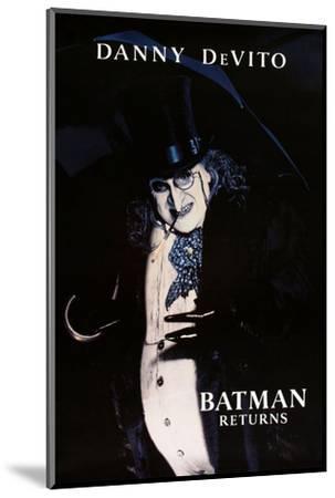 "DANNY DEVITO. ""BATMAN RETURNS"" [1992], directed by TIM BURTON.--Mounted Photographic Print"