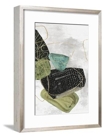 Geometrics Aside II-PI Studio-Framed Art Print