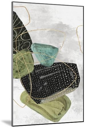 Geometrics Aside II-PI Studio-Mounted Art Print