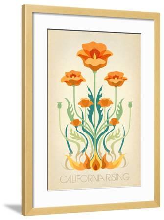 California Rising--Framed Art Print