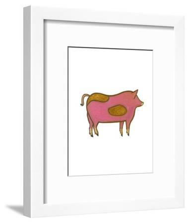The Pig,2009-Cristina Rodriguez-Framed Giclee Print