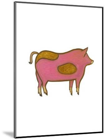 The Pig,2009-Cristina Rodriguez-Mounted Giclee Print