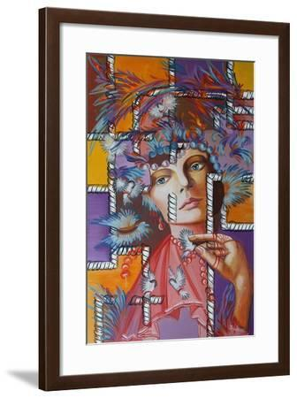 Feather Hat, 2015--Framed Giclee Print