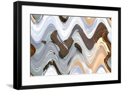 Apostile Wavy 4, 2016--Framed Photographic Print