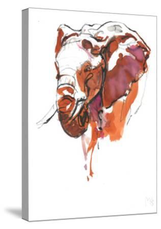 Head Study 6-Mark Adlington-Stretched Canvas Print