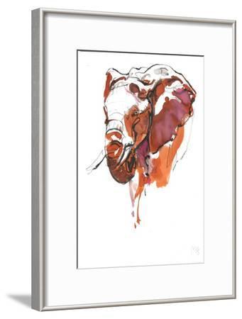 Head Study 6-Mark Adlington-Framed Giclee Print
