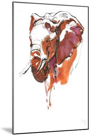 Head Study 6-Mark Adlington-Mounted Giclee Print