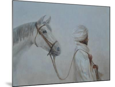 Man Leading Horse-Lincoln Seligman-Mounted Giclee Print