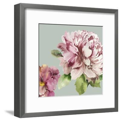 Pink Peony I-Asia Jensen-Framed Art Print