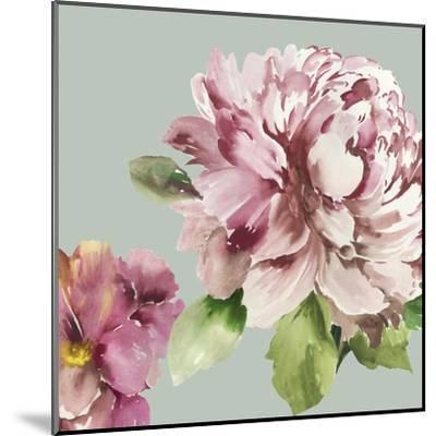 Pink Peony I-Asia Jensen-Mounted Art Print