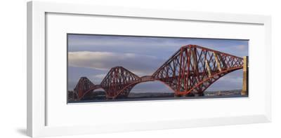Forth Railway Bridge, Scotland. Completed 1890.-Joe Cornish-Framed Photo