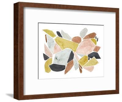 Tuscan Terazzo II-Grace Popp-Framed Art Print