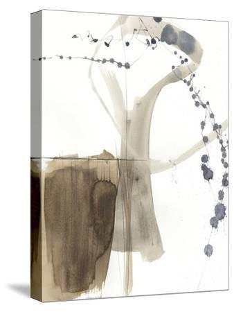 Umber Connection I-Jennifer Goldberger-Stretched Canvas Print