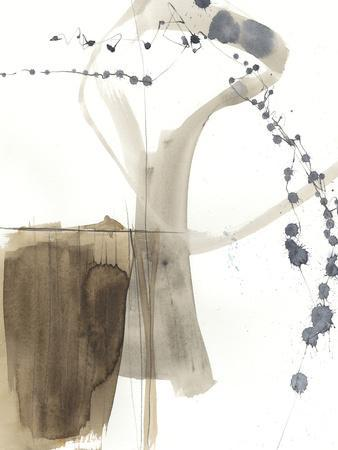 Umber Connection I-Jennifer Goldberger-Framed Art Print