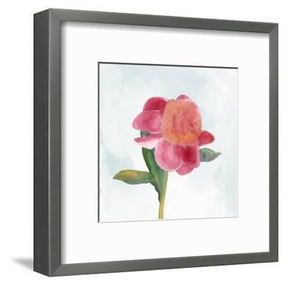 Joyful Peony III-Alicia Ludwig-Framed Art Print