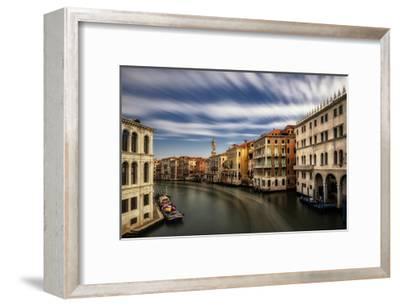 Rialto, Looking North-Danny Head-Framed Art Print