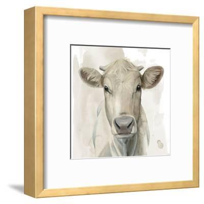 Prairie Bovine I-Grace Popp-Framed Art Print