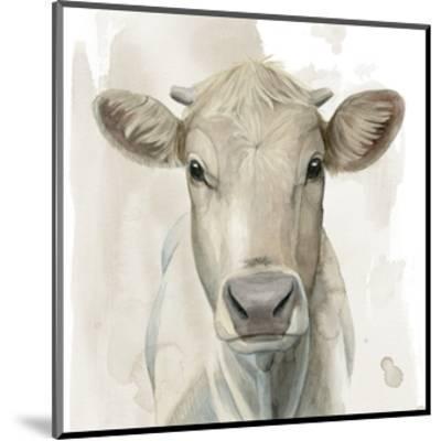 Prairie Bovine I-Grace Popp-Mounted Art Print