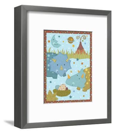 Dino Friends I-Viv Eisner-Framed Art Print