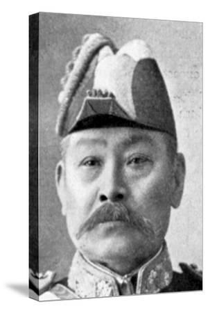 Admiral Ito, Chief of Naval Board of Command, Russo-Japanese War, 1904-5. Artist: Unknown-Unknown-Stretched Canvas Print