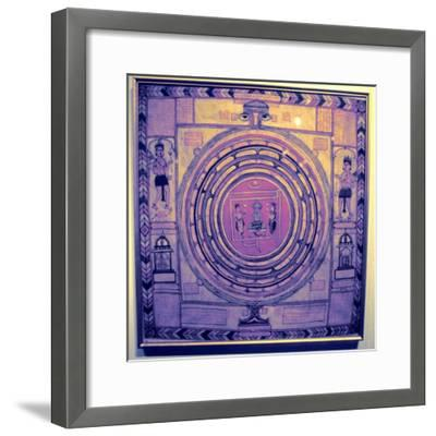 Jain cosmos, Indian. Artist: Unknown-Unknown-Framed Giclee Print