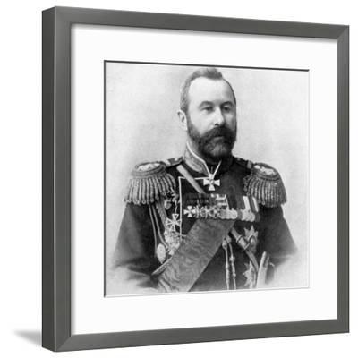 Alexei Nikolaievich Kuropatkin, Russo-Japanese War, 1904-5. Artist: Unknown-Unknown-Framed Photographic Print