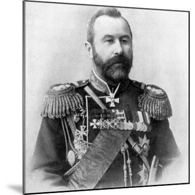 Alexei Nikolaievich Kuropatkin, Russo-Japanese War, 1904-5. Artist: Unknown-Unknown-Mounted Photographic Print