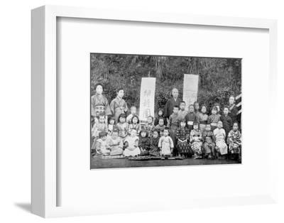 Salvation Army school, Japan, c1900. Artist: Unknown-Unknown-Framed Photographic Print