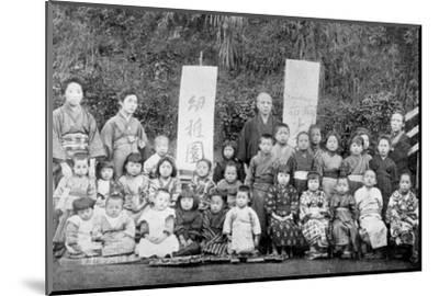 Salvation Army school, Japan, c1900. Artist: Unknown-Unknown-Mounted Photographic Print