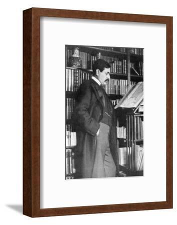 Paul Bourget, French novelist and critic, late 19th-early 20th century. Artist: Unknown-Unknown-Framed Photographic Print