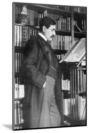 Paul Bourget, French novelist and critic, late 19th-early 20th century. Artist: Unknown-Unknown-Mounted Photographic Print