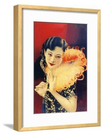 Shanghai advertising poster, c1930s. Artist: Unknown-Unknown-Framed Giclee Print