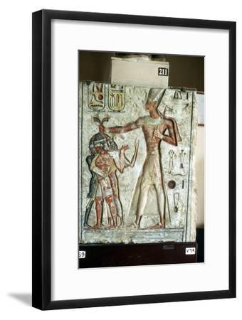 Pharaoh Rameses II, Ancient Egyptian, 19th dynasty, 13th century BC. Artist: Unknown-Unknown-Framed Giclee Print
