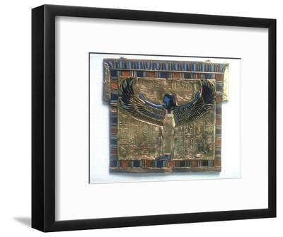 Pectoral from the tomb of Tutankhamun, c14th century BC. Artist: Unknown-Unknown-Framed Giclee Print