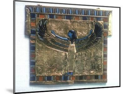 Pectoral from the tomb of Tutankhamun, c14th century BC. Artist: Unknown-Unknown-Mounted Giclee Print