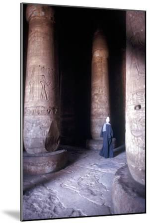 Hypostyle Hall, Temple of Sethos I, Abydos, Egypt, 19th Dynasty, c1280 BC. Artist: Unknown-Unknown-Mounted Giclee Print