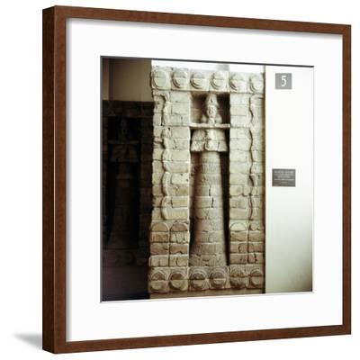 Detail showing the goddess Innana on the Facade of the Temple, c1475 BC. Artist: Unknown-Unknown-Framed Giclee Print