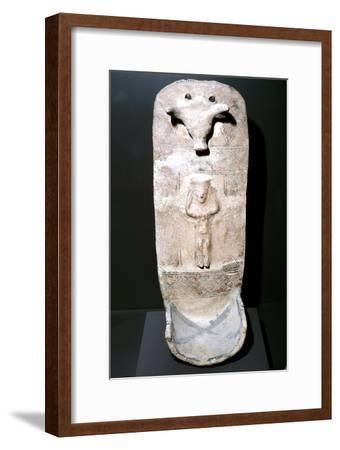 Painted terracotta from the Athienon Acropolis, Cyprus, c8th century BC. Artist: Unknown-Unknown-Framed Giclee Print