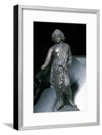 Bronze Statue of Adonis, Saida, Lebanon, 2nd century. Artist: Unknown-Unknown-Framed Giclee Print