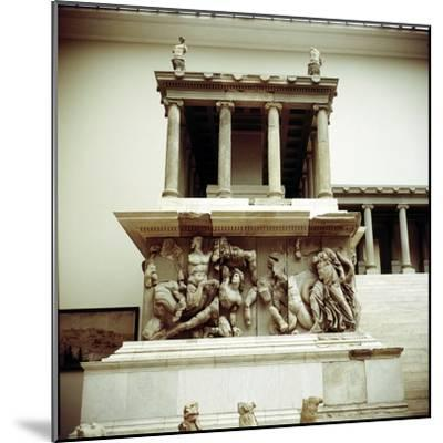 Detail of the Altar of Zeus from Pergamon, c180-c159 BC. Artist: Unknown-Unknown-Mounted Giclee Print