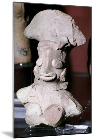 Terracotta female figure, Indus Valley, Mohenjo-Daro, 2500-2000 BC. Artist: Unknown-Unknown-Mounted Giclee Print