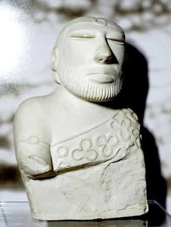 Priest King or Deity, Indus Valley, Mohenjo-Daro, c2100 BC. Artist: Unknown-Unknown-Framed Giclee Print