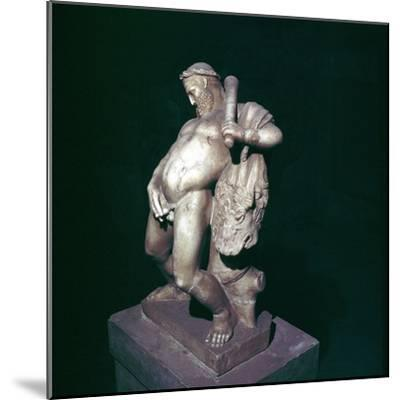 The drunken Hercules, House of the Stags, Herculaneum, Italy. Artist: Unknown-Unknown-Mounted Giclee Print