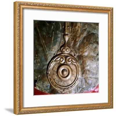 Detail of Witham Shield, Celtic bronze, British. Artist: Unknown-Unknown-Framed Giclee Print