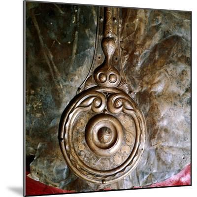 Detail of Witham Shield, Celtic bronze, British. Artist: Unknown-Unknown-Mounted Giclee Print